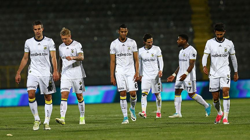 Fenerbahçe için sezon hayal kırıklığıyla geçti