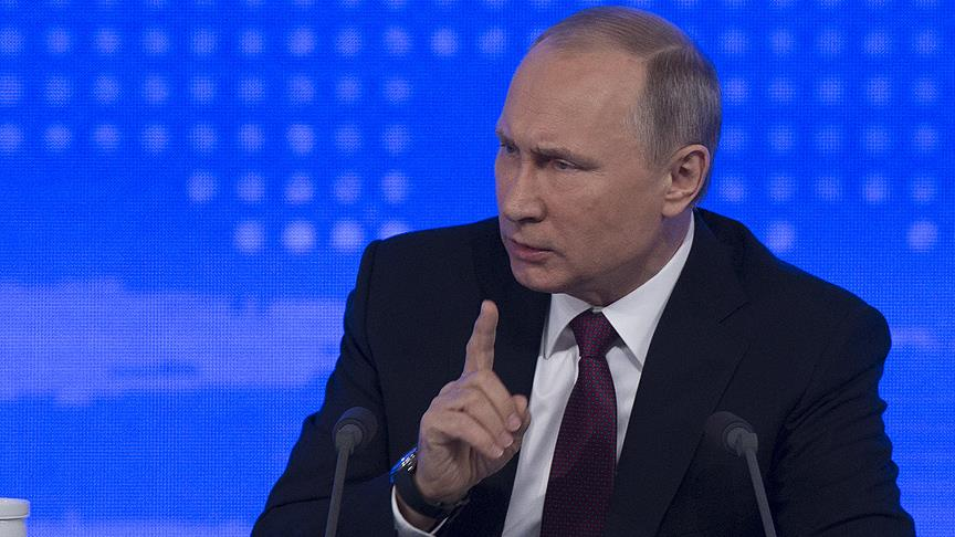 Putin'den çok sert ABD çıkışı