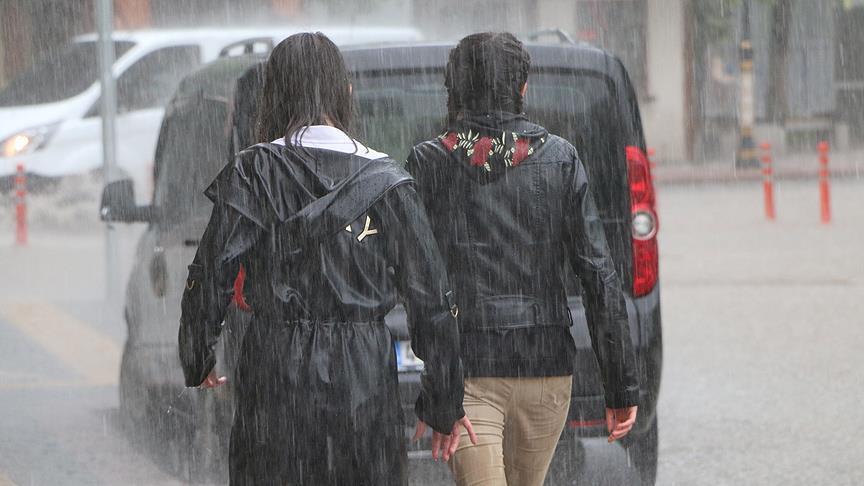 Meteorolojiden 15 il için kuvvetli yağış uyarısı