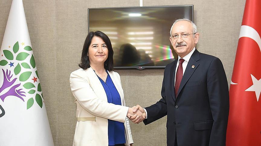 Kılıçdaroğlu'ndan HDP'ye ziyaret