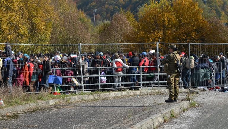Avrupa'daki sığınmacı krizi