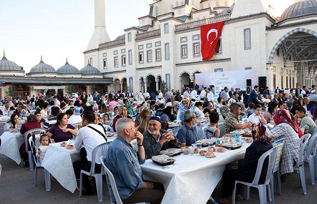 Kırıkkale'de 5 bin kişilik iftar programı
