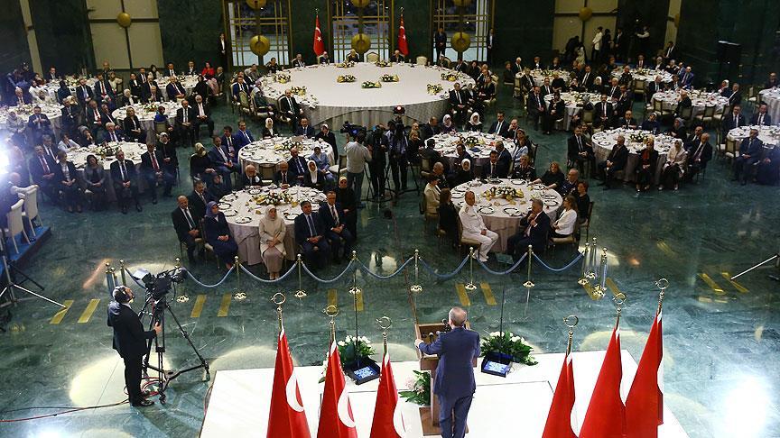 Erdoğan'dan esnafa iftar daveti
