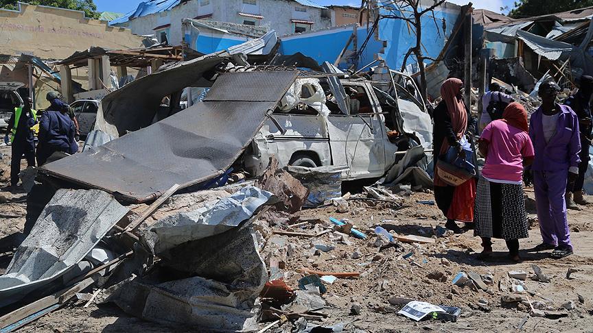 Somali'de intihar saldırısı