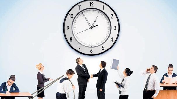 Yaz saati uygulaması değişmeyince mesai saatleri değişti