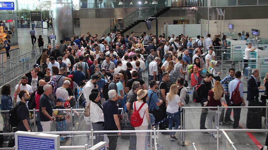 2 ayda 16 milyon yolcu