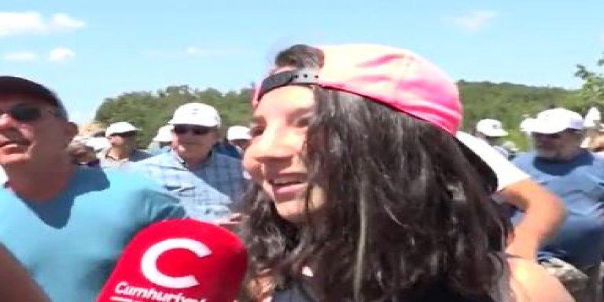 """Kaz Dağları için yürüyen çocuklar: """"Bizim de yaşama gibi hakkımız var"""""""