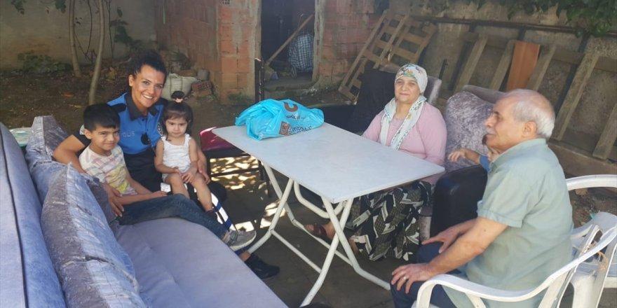 İstanbul Emniyeti bayramda şehit ailelerini unutmadı!