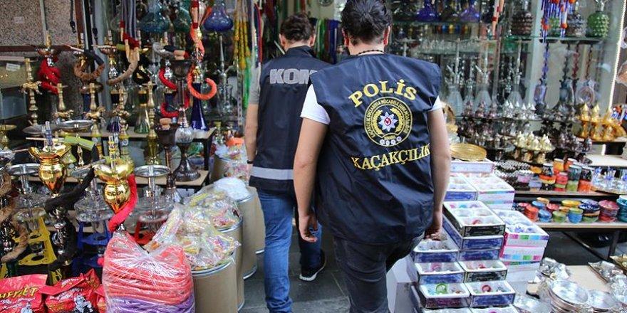 500 polisle kaçak ürün operasyonu