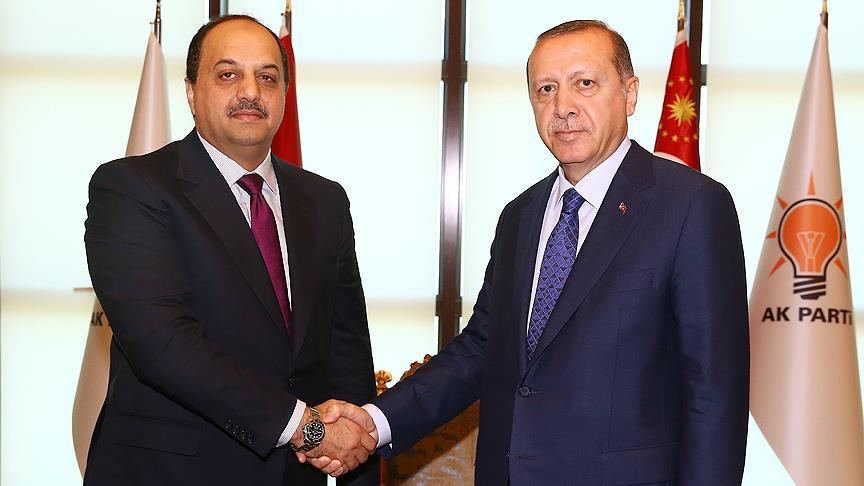 Erdoğan, El-Atiyye'yi kabul etti