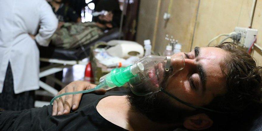 Şam'da klor gazlı saldırı iddiası
