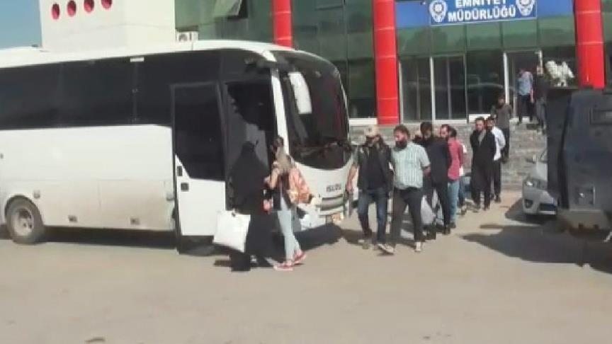 Van merkezli IŞİD operasyonunda 16 tutuklama