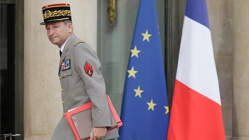 Fransa'da Genelkurmay Başkanı istifa etti