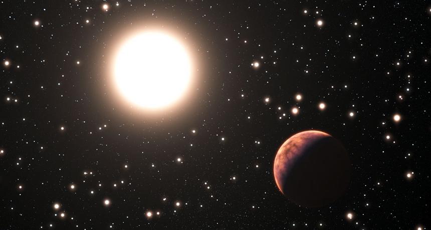 Gezegen yiyen yıldız bulundu!