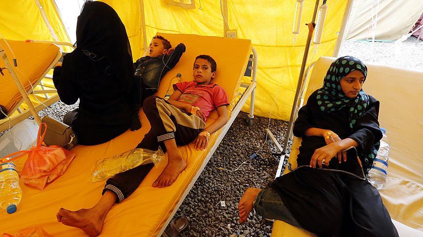 Yemen'de kolera salgını alarm veriyor