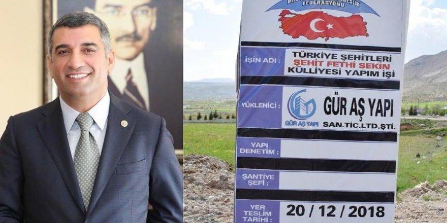 CHP'li belediye yarım kalan külliyeyi tamamlayacak!