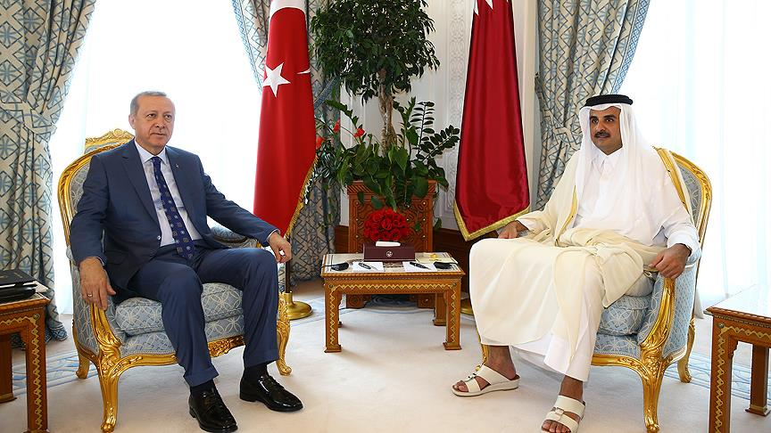 Erdoğan Al Sani ile görüştü