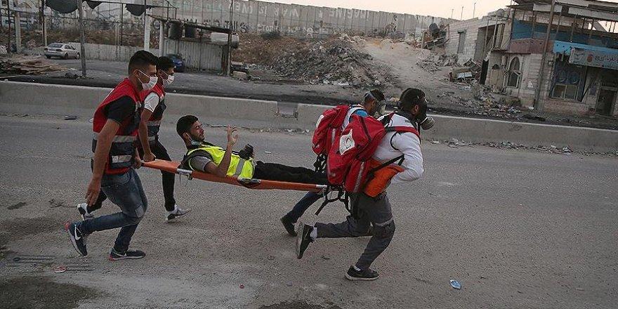 İsrail polisi gazetecileri hedef aldı