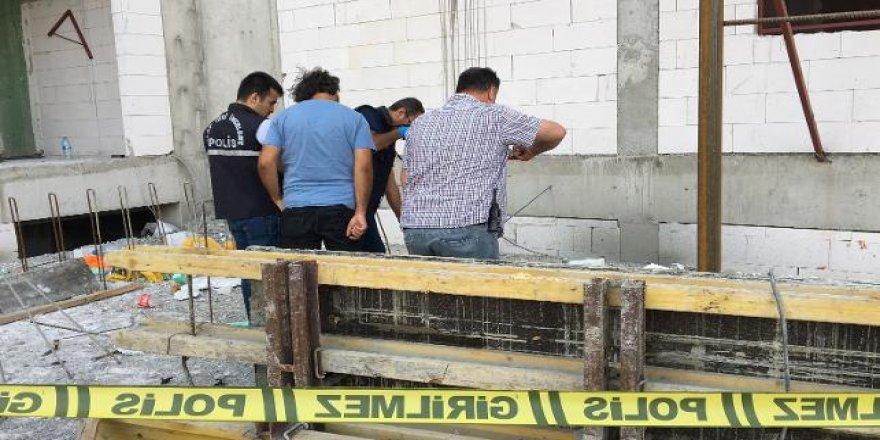 7'nci kattan düşen inşaat işçisi hayatını kaybetti