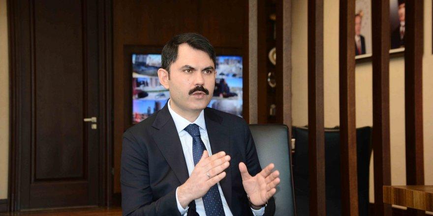 Çevre ve Şehircilik BakanıMurat Kurum'dan Kanal İstanbul açıklaması