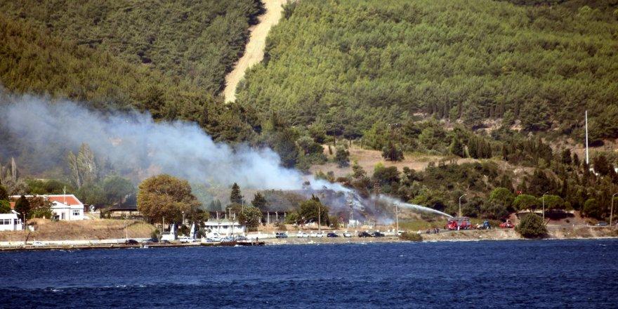 Çanakkale'de korkutan yangın!