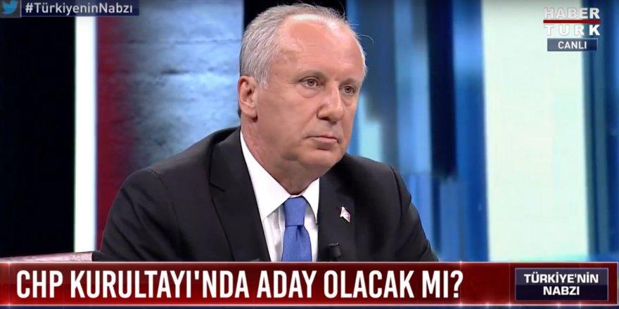 Muharrem İnce'den Cumhurbaşkanı adaylığı açıklaması