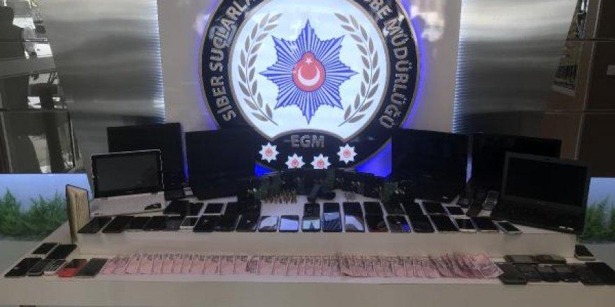 7 ilde siber dolandırıcılık operasyonu