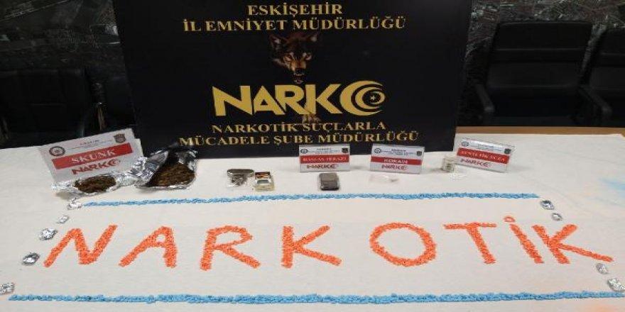 Eskişehir'de uyuşturucu ticareti!