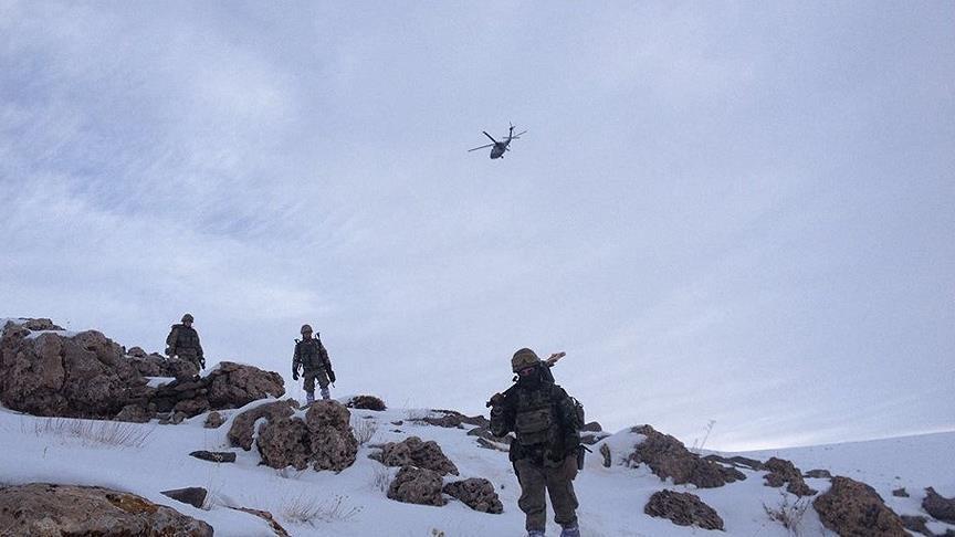 Gabar bölgesine terör operasyonu