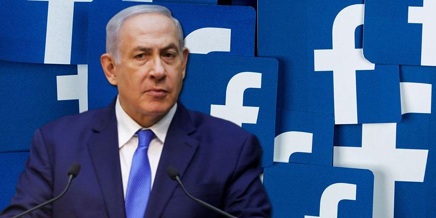 Facebook'tan Netanyahu'ya engel