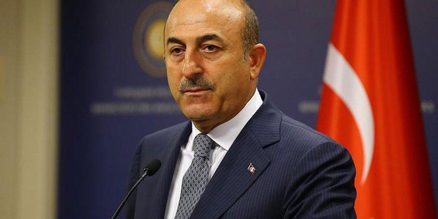 Çavuşoğlu'ndan Avrupa'ya PKK tepkisi