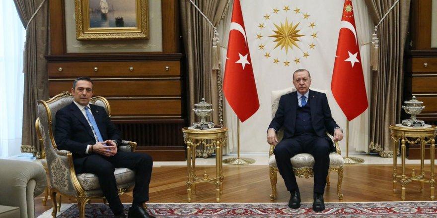 Ali Koç, Cumhurbaşkanı Erdoğan'la görüştü