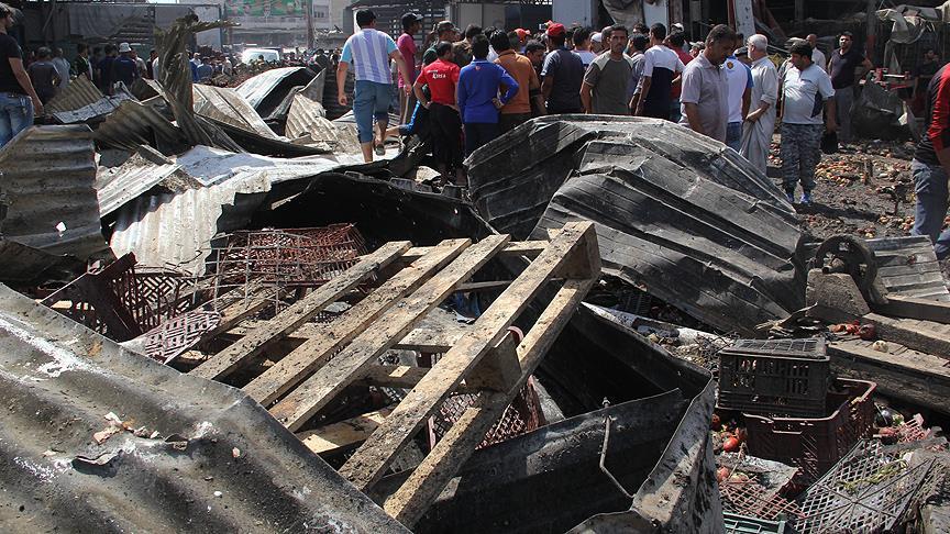 Halk pazarına bombalı saldırı: 10 ölü