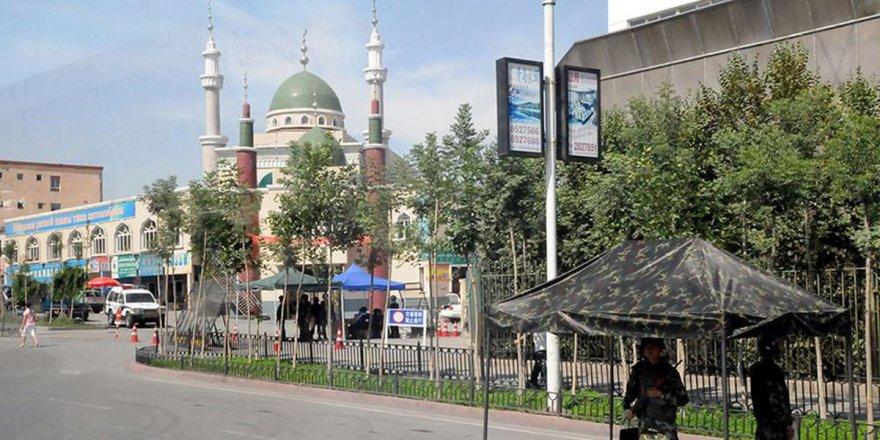 Doğu Türkistan'daki camilere yüz tanıma sistemi yerleştirildi