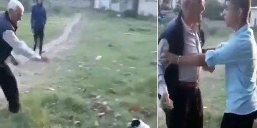Kocaeli'de köpeğe taş atmasına karşı çıkan gençleri darp eden kişiye gözaltı