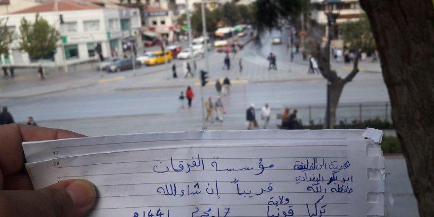 Konya'da IŞİD propagandası yapmıştı... Gözaltına alındı!