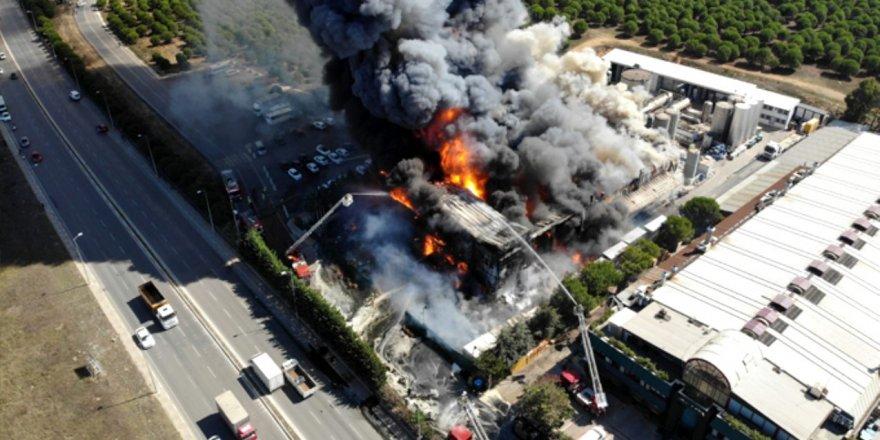Tuzla'daki yangını PKK üstlendi