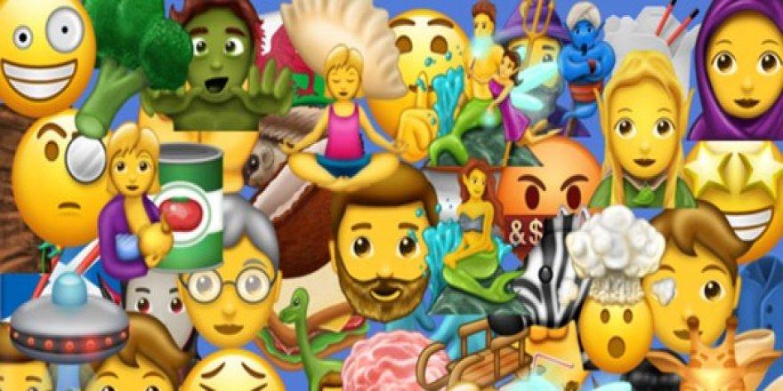 İşte en çok kullanılan emoji'ler