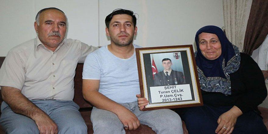 """Şehit ailesinden harekata destek! """"Ne mutlu ki o bayrakta..."""""""