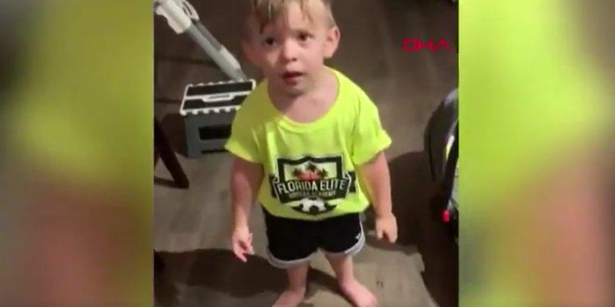 Annesi kendisini öpmeden işe gitti... Tepkileri viral oldu!