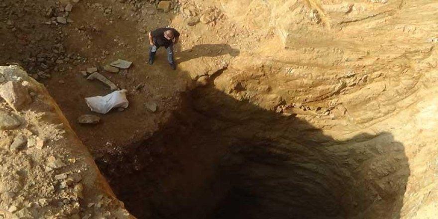 Çanakkale'deki 40 metrelik çukurda yeni gelişme