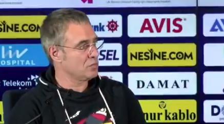 Ersun Yanal, muhabirin 'Mehmet Ekici' sorusuna sinirlendi