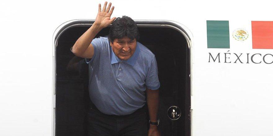 Bolivya Devlet Başkanı Meksika'da