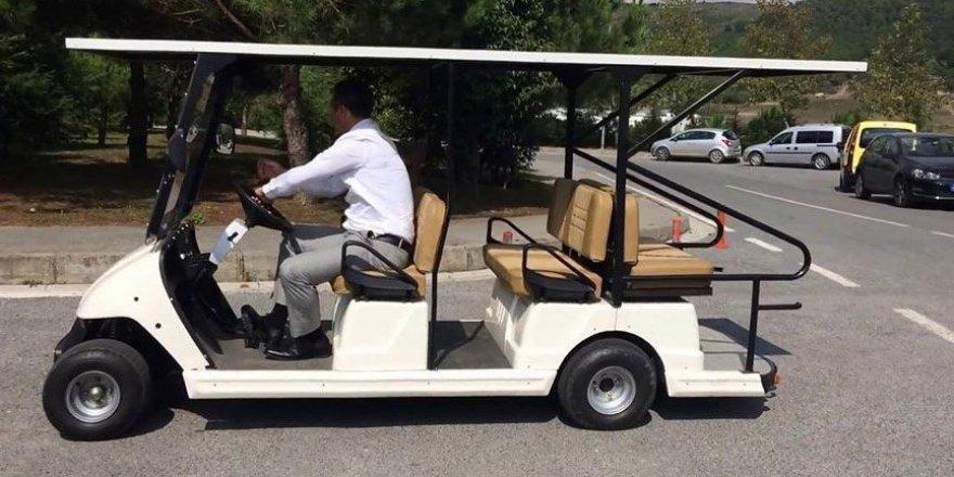 Golf sahası olmayan AKP'li belediye golf arabası aldı!