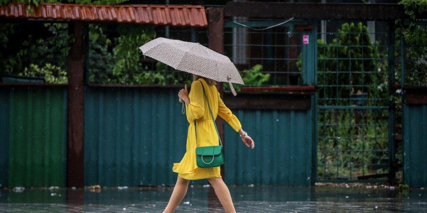 Meteoroloji'den 6 kente kuvvetli yağış uyarısı