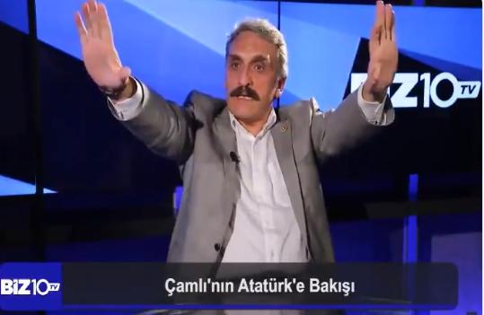 """AKP'li Ahmet Hamdi Çamlı: """"Buna Allah da bozulur Atatürk de bozulur"""""""