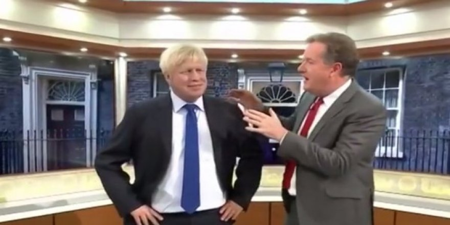 Sunucu sözünde durmayan Johnson'ın maketini yaptırdı