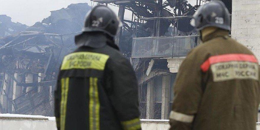 Rusya'da fabrika yangını