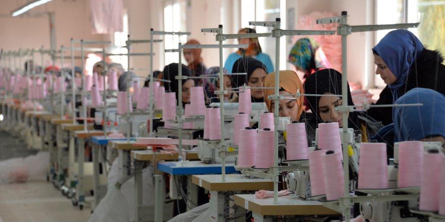 Solhan'da 460 kadının çalışacağı 2 fabrika açıldı