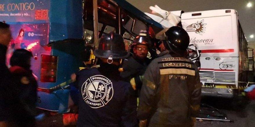 Meksika'da katliam gibi kaza